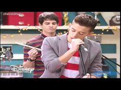 """#violetta3 - León y los chicos cantan """"Mil vidas Atras"""" - Episodio 41 [D... @TiniStoesel @LupiLupinchen @Alcira71 Cancion MARAVILLOSA no??"""