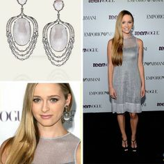 Throwback for MTV Actress Greer Grammer @greer_grammer wearing Danielle Queller's @daniellequeller Large Silver Mist Waterfall Earrings featuring Grey quartz topaz and diamonds set in 18K gold and .925 silver. It was perfect for her pewter Armani @armani dress.  #purplebyanki #diamonds #luxury #loveit #jewelry #jewelrygram #jewelrydesigner #love #jewelrydesign #finejewelry #luxurylifestyle #instagood #follow #instadaily #lovely #me #beautiful #loveofmylife #dubai #dubaifashion #dubailife…