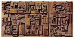 Eduardo Paolozzi Eduardo Paolozzi, Buddha Wall Art, Louise Nevelson, Conceptual Architecture, Architectural Sculpture, Hr Giger, Cardboard Art, Found Object Art, Clay Tiles