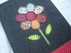Lury Artesanatos: Capas de caderno em tecido