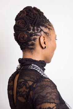pin curls back