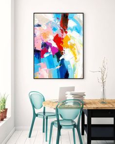 Extra Large Wall Art Original Art Bright Abstract Original Painting On Canvas Extra Large Artwork Contemporary Art Modern Home Decor Art Original, Original Paintings, Abstract Paintings, Canvas Paintings, Texture Painting On Canvas, Large Painting, Hallway Art, Hallway Ideas, Large Abstract Wall Art