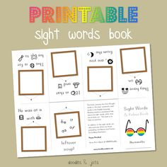 Free printable eBook from Doodles and Jots.