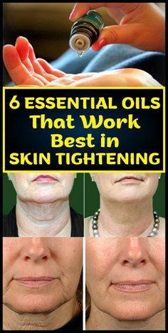 What these oils do is tighten the skin so that it doesn't appear wrinkly and saggy. This would give an appearance of youthfulness that would belie a person