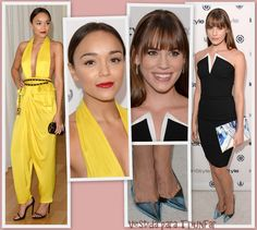 Ashley Madekwe y Christa B. Allen en la InStyle's Summer Soiree 2013