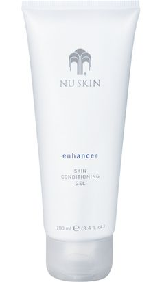 Enhancer Skin Conditioning Gel. Lightweight hydrator with a subtle cooling sensation on the skin.