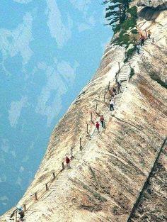 Hua Shan Mountain, China.