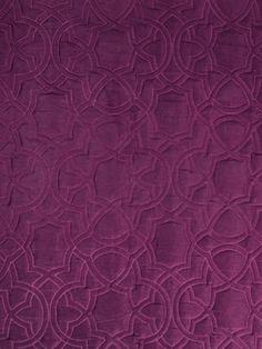 Beacon Hill Fabric / Garlyn, Magenta