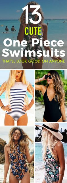 13 cute one piece swimsuits that'll look good on anyone