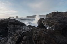Dyrhólaey en Islande