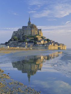 Mont Saint-Michel one of the most amazing places.  I'd love to see it again.