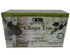 Chaga Tea (Birch Fungus) 20 bags by Salem Botanicals. $4.99. For centuries, Chaga has been revered for its life enhancing properties. According to thousands of years of testing in Traditional Chinese Medicine, medicinal mushrooms including Chaga, can preserve youth and increase longevity, improve health, and boost life energy. Chaga contains zinc, copper, magnesium, calcium, potassium, aluminum, iron, silicon, manganese and other substances. The properties of Chaga are...