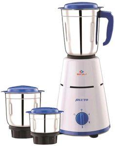 Bajaj 3 Jar Pluto 500 W Mixer Grinder