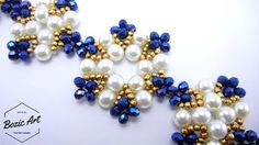 blue lagoon bracelet ~ Seed Bead Tutorials