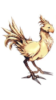 final fantasy chocobo tattoos - Google Search