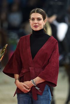 Charlotte Casiraghi [Photo by Daniele Venturelli/Gucci/Getty Images]