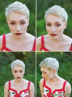Very Short Pixie Hhaircuts For WomenStyleSN | StyleSN