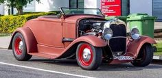 Vintage Cars, Antique Cars, Retro Pictures, Retro Pics, Lc 2, Vw Rat Rod, 1932 Ford Roadster, Rusty Cars, Old Race Cars