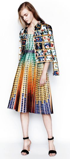 A Journey Into Mary Katrantzou's Fashion Landscapes | http://www.yatzer.com/mary-katrantzou-resort-2014-moncler-m