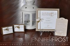 Narelle & Shaun's Wedding Invitation Suite