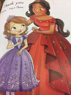 Elena and Sofia