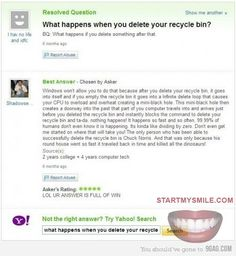 ROFL!!! Recycle