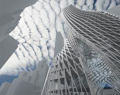 Edgar Street Tower by IwamotoScott Architecture