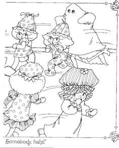 Purple Pieman (Strawberry Shortcake) coloring page