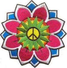 Peace Hippie Art ☮️