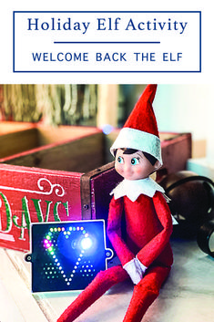 This simple Elf on the Shelf Activity from Everyday Party Magazine is perfect for kids and kids at heart! #ElfOnTheShelf #ElfOnAShelf #WorldsSmallestToys