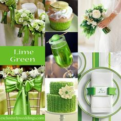 Lime Green Wedding Color Exclusivelyweddings Exclusively Weddings Themes