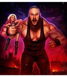 Alexa Bliss & Braun Strowman