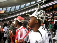 Orlando Pirates vs. Vasco Da Gama: Orlando Pirates supporters singing