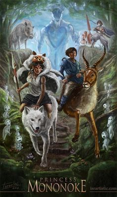 princess mononoke fan art - Google Search