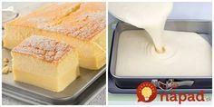 Tento koláčik je ako sladké kúzlo, krém sa vytvorí sám, počas pečenia.