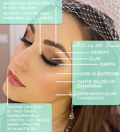 How To Do Bridal Makeup By Own : Wedding makeup and hair on Pinterest Wedding makeup ...