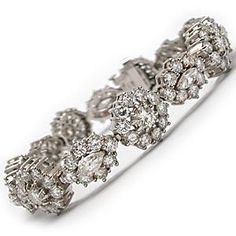Vintage Diamond Tennis Bracelet...Gorgeous.