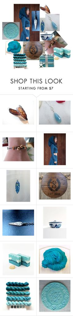 """""""Elven Forest"""" by inspiredbyten on Polyvore featuring Mottahedeh and vintage"""