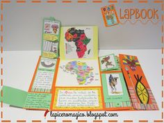LAPICERO MÁGICO Taller de libros: Lapbook Handas Surprise, Passports For Kids, Preschool Arts And Crafts, Night Sky Wallpaper, Memory Books, Interactive Notebooks, Book Making, Science And Nature, Mini Books