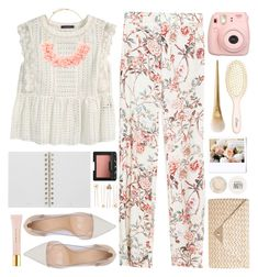 """""""#869 Joy"""" by blueberrylexie ❤ liked on Polyvore featuring Zara, Violeta by Mango, Forever 21, Accessorize, Gianvito Rossi, AERIN, L. Erickson, Mulberry, NARS Cosmetics and Topshop"""