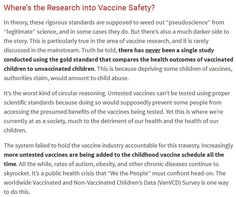A Truthful Vaccine Consent Form  That No Mom Could Ever Sign