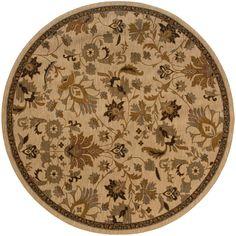 Oriental Weavers Infinity 1115B Beige/Tan Floral Area Rug