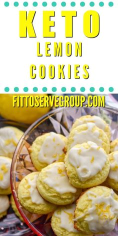 Keto lemon cookies because I don't know about you, but I am a fan of any recipe that calls for lemon. And in my book, the bright flavor lemon imparts to desserts is simply perfection. So when I created these lemon keto cookies I made sure it had a combina Gourmet Recipes, Low Carb Recipes, Dessert Recipes, Lunch Recipes, Cookie Recipes, Dessert Bread, Ketogenic Recipes, Brownie Recipes, Bread Recipes