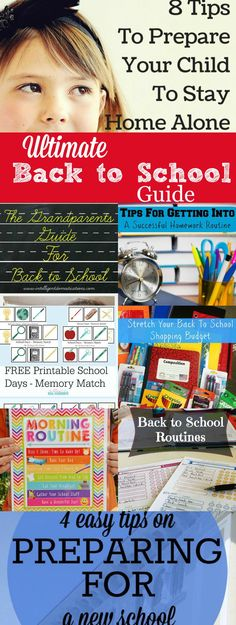 Ultimate Back to School Guide for a successful school year.