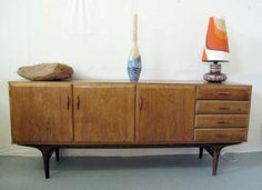 vintage jaren 60 teakhouten dressoir Pastoe Cees Braakman