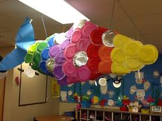 Completely Kindergarten  Rainbow Fish! @Mardel Hotkevich This looks like something you would do!