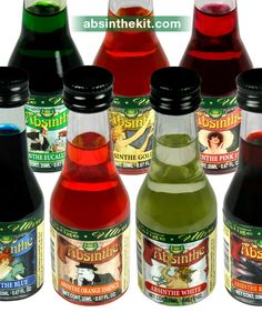 Welcome to Absinthe Kit - The only store that provides natural Absinthe never seen or tasted before. World Wide Shipping. Liquor, Green, Alcohol