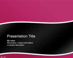 88 best template fonts images on pinterest power point templates singularity powerpoint template with violet background and black colors toneelgroepblik Gallery