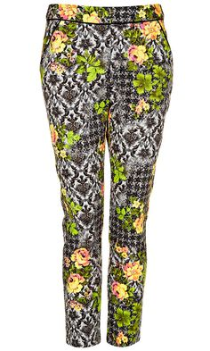 Topshop Floral Trousers, £38