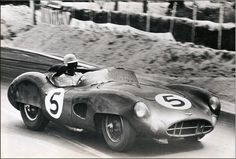DBR1 Aston Martin, Le Mans 1959 driven by Carol Shelby and Roy Salvadori
